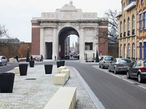 THE MENIN GATE MEMORIAL TO THE MISSING , YPRES