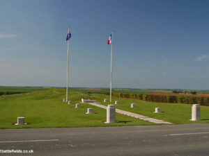 AUSTRALIAN MONUMENTS GIBRALTAR AND THE WINDMILL AT POZIERES