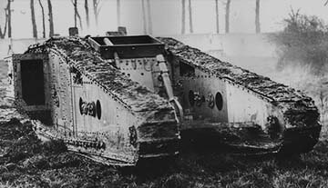 Tanks of World War 1